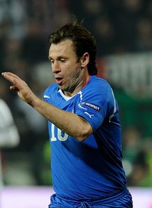 Cassano told to shape up