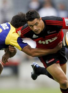 dan carter crusaders v highlanders