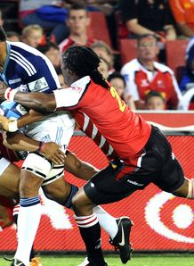 jerome Kaino Blues v Lions Super Rugby