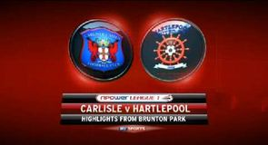 Carlisle 1-0 Hartlepool