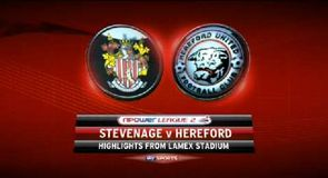 Stevenage 0-1 Hereford