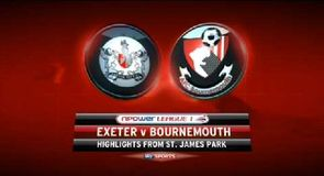Exeter 2-0 Bournemouth