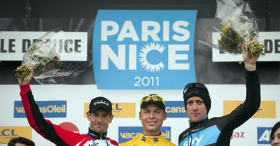 Paris Nice Podium