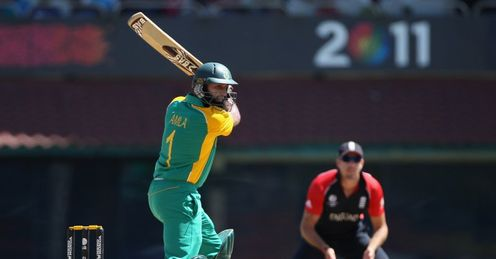 2011 World Cup Group B England v South Africa Hashim Amla