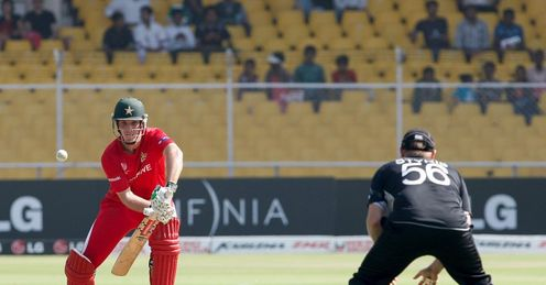 2011 World Cup New Zealand v Zimbabwe Group A Ahmedabad Brendan Taylor