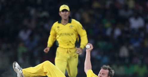 Brett Lee caught and bowled Australia Pakistan