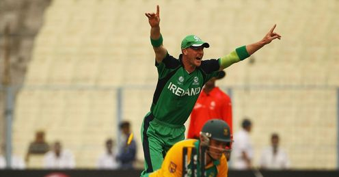 Graeme Smith John Mooney run out Ireland South Africa