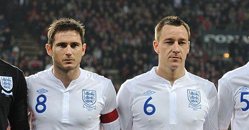 Experienced: Lampard and Terry still have a lot to offer, says Jamie