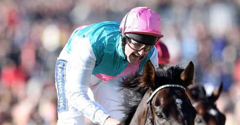 Tom Queally Twice Over win Champion Stakes 2010