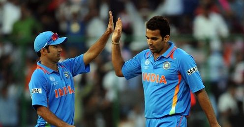 Zaheer Khan India Netherlands