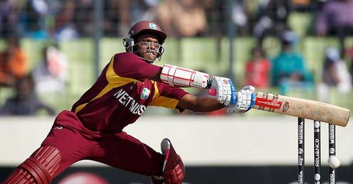 Shivnarine Chanderpaul West Indies batting against Pakistan Dhaka