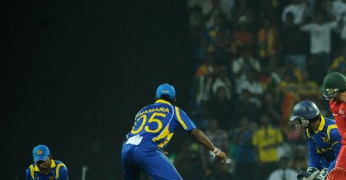 Mahela Jayawardene Sri Lanka v Zimbabwe World Cup Group A Pallekele Mar 2011