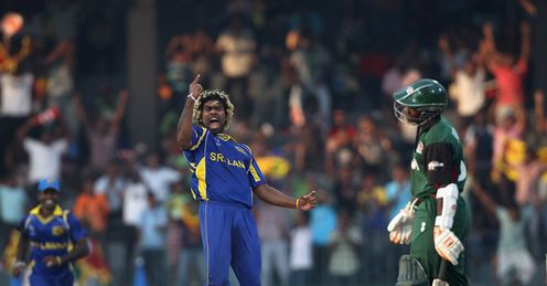 Lasith Malinga Sri Lanka v Kenya World Cup RPS Colombo Mar 2011
