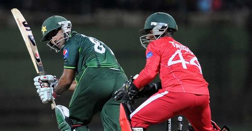Asad Shafiq Pakistan batting against Zimbabwe Pallekele