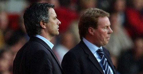 Redknapp: will be behind Mourinho after the first leg, but ahead when it's all done, says Thommo