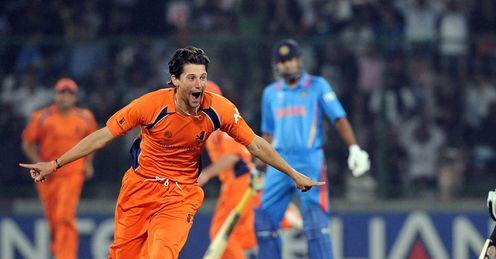 Pieter Seelaar Netherlands v India World Cup Group B Feroz Shah Kotla Delhi Mar 2011
