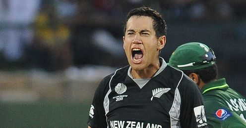 Ross Taylor New Zealand v Pakistan World Cup Group A Pallekele Mar 2011