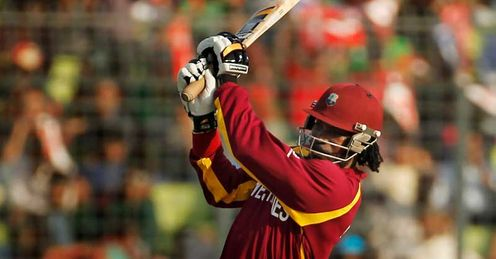 Chris Gayle West Indies 2011 Cricket World Cup