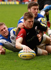 David Strettle Saracens