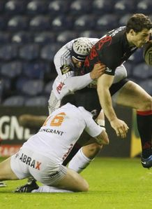 Edinburgh s Tim Visser v aironi