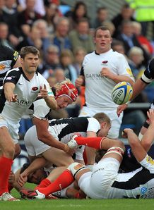 Exeter v Saracens Richard Wigglesworth
