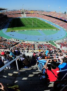 General view of the Olympic Stadium Barcelona
