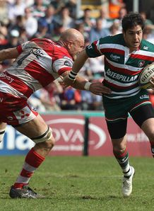 Leicester v Gloucester Horacio Agulla Will James