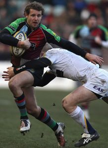 Nick Evans Michael Stephenson Harlequins leeds