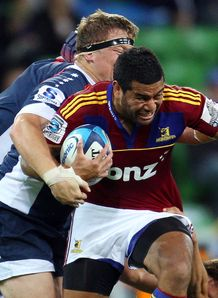 Siale Piutau highlanders v rebels