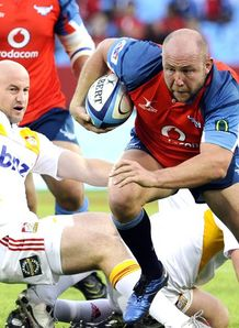 Super Rugby Bulls v Chiefs Gary Botha