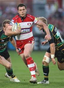 Tim Molenaar gloucester northampton 2011 AP