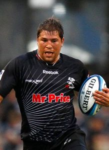 Willem Alberts sharks black strip 2011