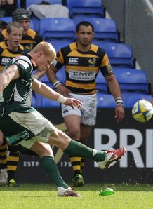 Tom Homer London Irish v Wasps Aviva Premiership Madejski Stadium Apr 2011