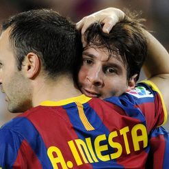 Messi & Iniesta: Dynamic duo