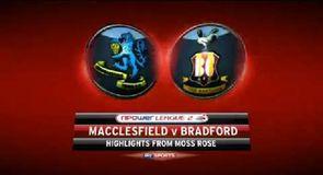 Macclesfield 0-1 Bradford