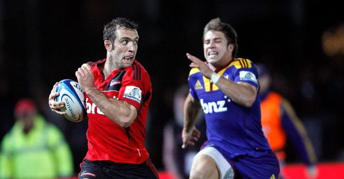 Adam Whitelock James Paterson crusaders highlanders 2011