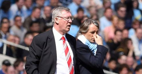 Fergie's United seem to have worn down Mancini's City
