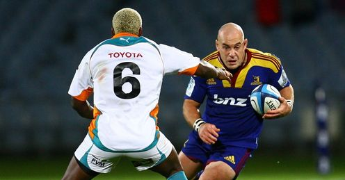 Jason Rutledge taking on Cheetahs for Highlanders
