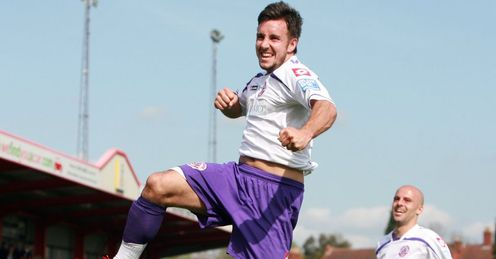 Tubbs: Confident he can get the goals that will help Crawley into League One