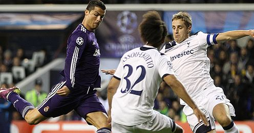 real madrid vs tottenham 2011. Tottenham v Real Madrid