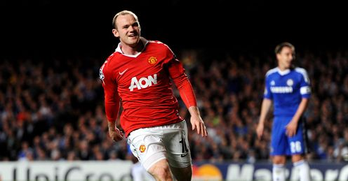 Rooney: set to return against Blues