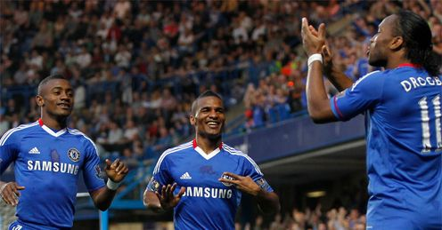 Three and easy: Chelsea need to stick with a trio of forwards, says Jamie