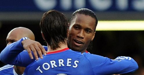Fernando Torres and Didier Drogba have struggled to form an effective partnership