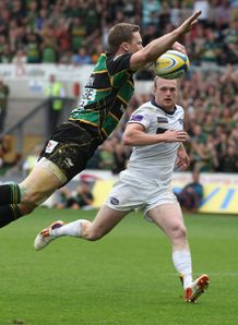 Chris Ashton northampton leeds dive