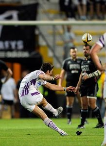 James Hook winning penalty for Ospreys