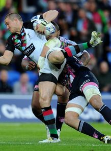 Mike Brown Harlequins stade francais
