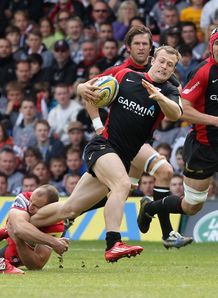 Saracens v Gloucester James Short