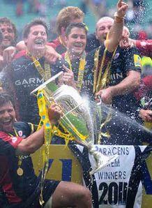 saracens champions
