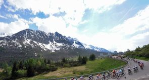 It was another tough day in the Dolomites for the weary riders