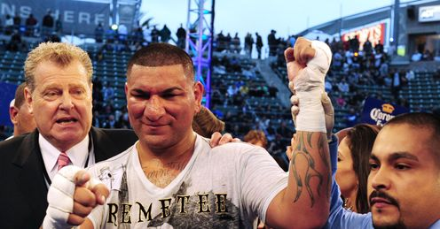 Arreola: has shed the pounds and is better for it, says Wayne